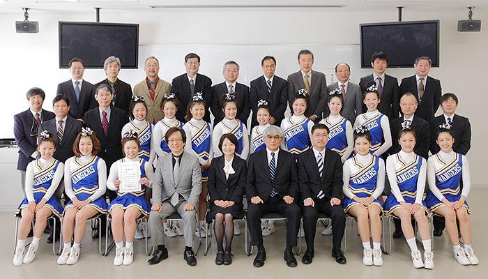 学長室のお客様 平成24年度 学長表彰式|愛知淑徳大学